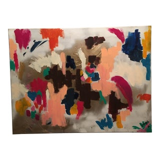 "Original Abstract Expressionist ""Glam2"" Painting For Sale"
