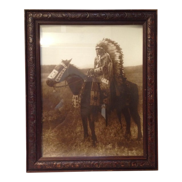 Native American Chief Hector Photograph - Image 1 of 8