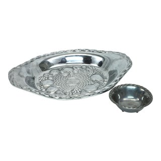 Gorham Chip N' Dip Tray & Bowl, S/2