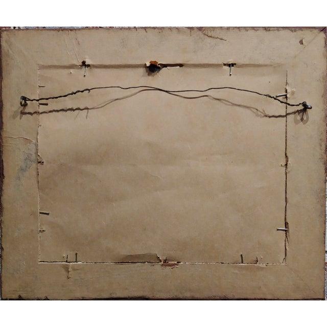 White Edward Curtis -Navajo Canyon De Chelly -1904 Original Orotone-Rare For Sale - Image 8 of 9