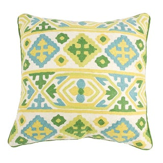 Moroccan Crewel Pillow For Sale