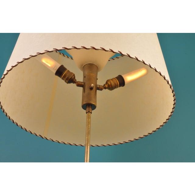 Metal Brass Telescopic Floor Lamp, Bag Turgi, Switzerland 1950s For Sale - Image 7 of 12