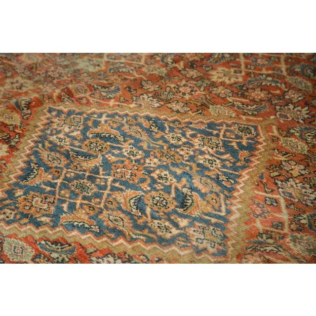 """Antique Mahal Square Carpet - 9'11"""" x 9'8"""" - Image 4 of 10"""