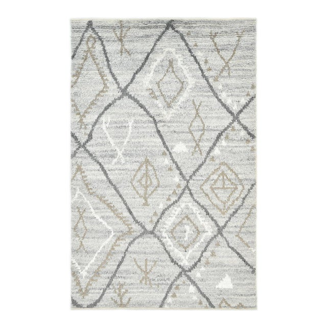 Clover Handmade Area Rug - 8 X 10 For Sale - Image 9 of 9