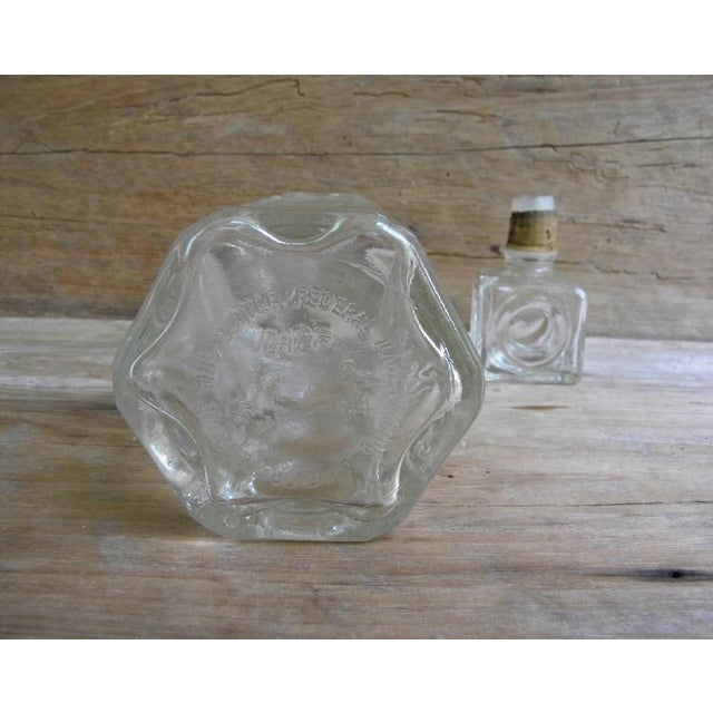 Mid-Century Glass Liquor Decanter For Sale - Image 4 of 5