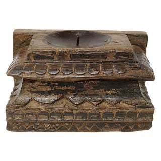 Antique Architectural Candle Holder For Sale
