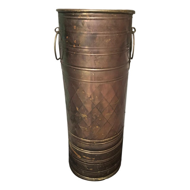 Brass O Rings Umbrella Holder Stand For Sale