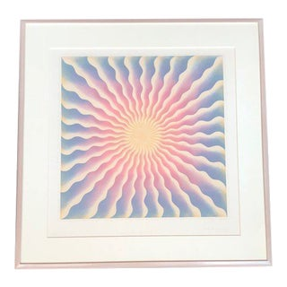 1970s Vintage Judy Chicago Mary Queen of Scots Signed Print For Sale