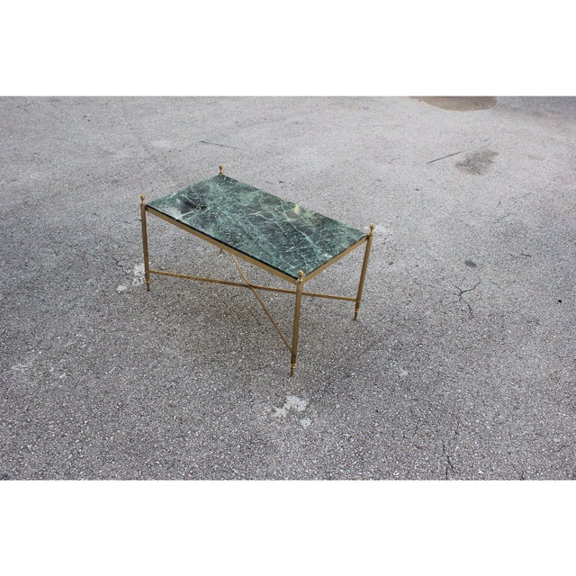 1940s Vintage French Maison Jansen Coffee Table For Sale - Image 10 of 13