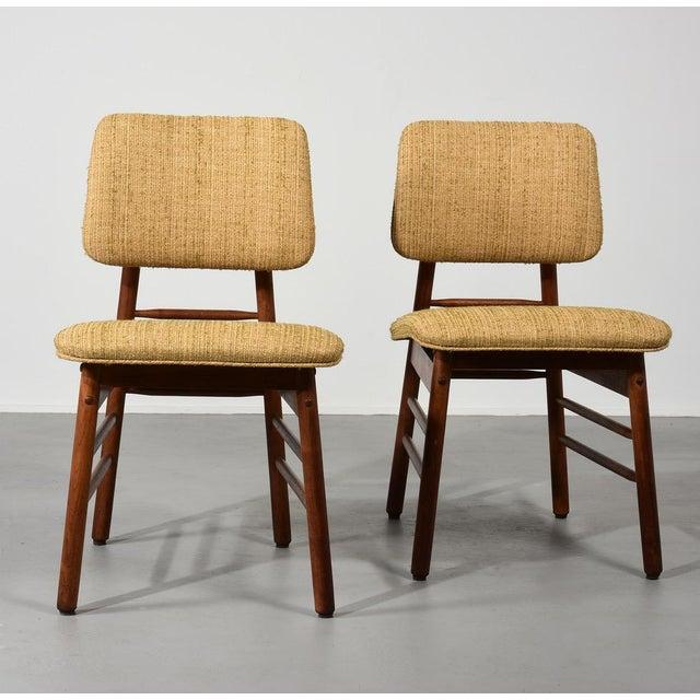 1950s 1952 Vintage Greta Grossman Model 6260 Chairs - Set of 4 For Sale - Image 5 of 10