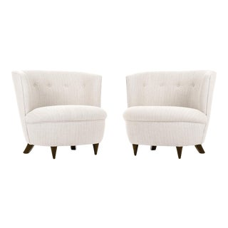 Gilbert Rohde Pair of Lounge Chairs For Sale