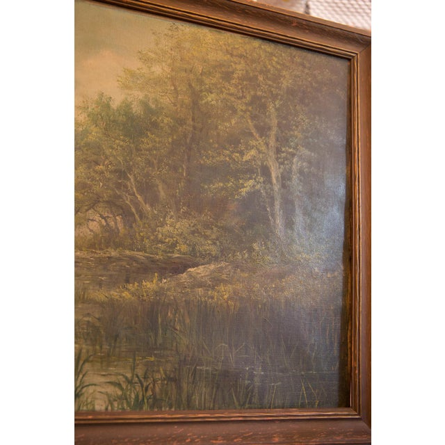 Antique Seascape Portait Painting For Sale - Image 9 of 12