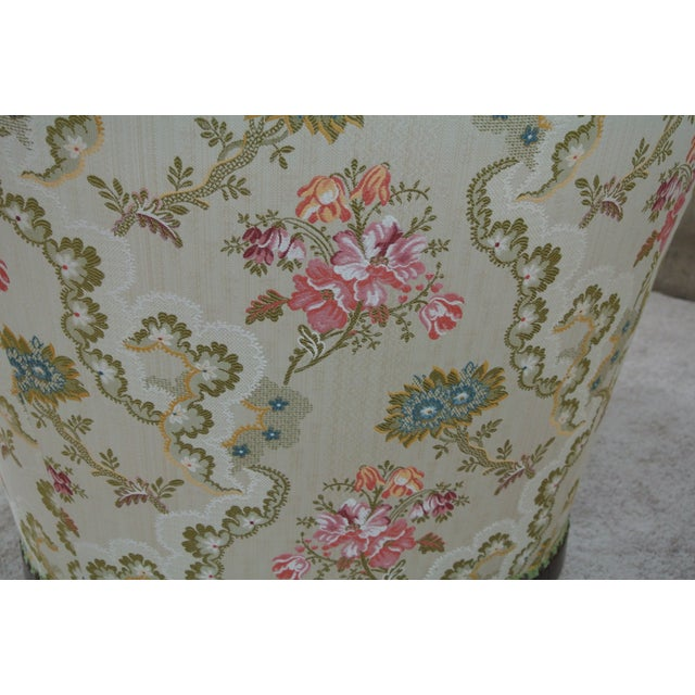 Textile Vintage Floral Chaise Lounge For Sale - Image 7 of 7