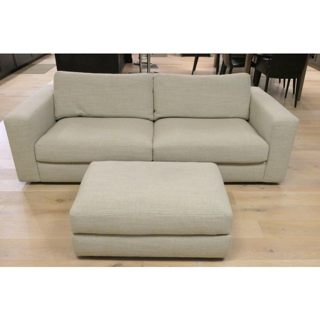 "Modern Design Within Reach ""Reid"" Sofa and Ottoman For Sale In San Francisco - Image 6 of 6"