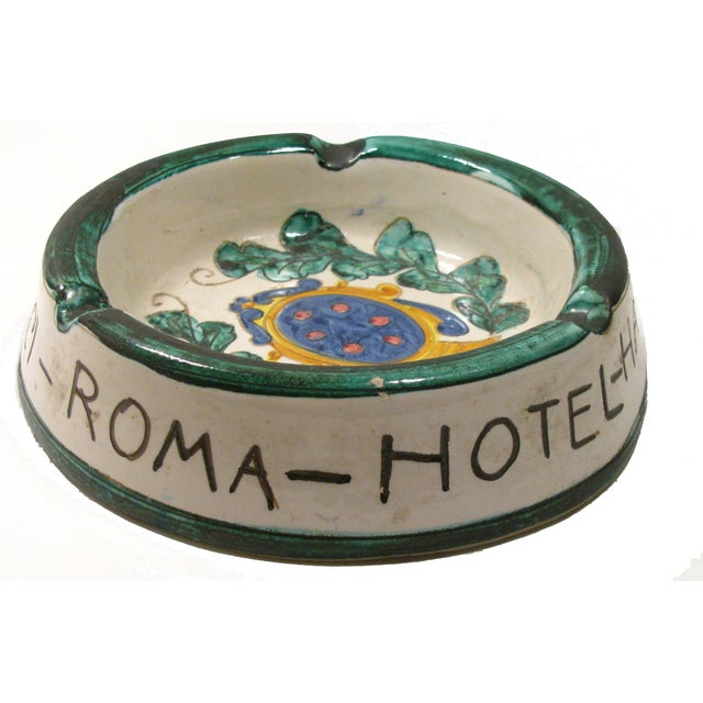 Italian Majolica Ashtray - Image 2 of 4