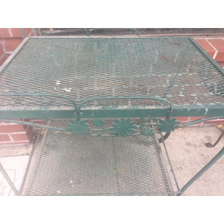 Vintage Wrought Iron Bar Cart Preview