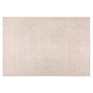Stark Studio Rugs Contemporary Linen Soumak Rug - 8' X 10' For Sale