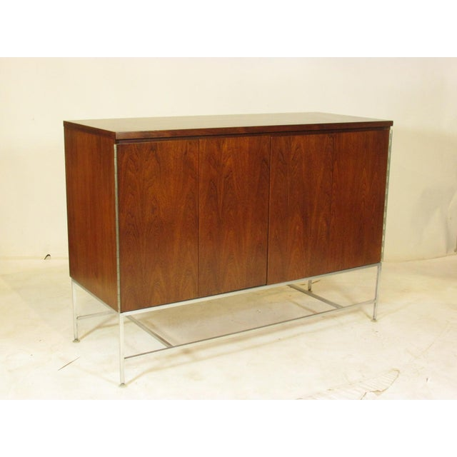1950's Mid Century Walnut Server by Paul McCobb For Sale - Image 11 of 11