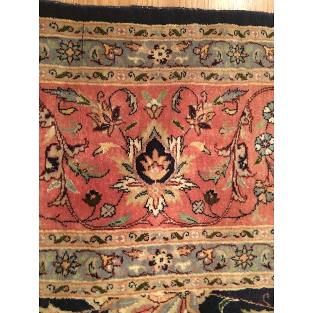 "Vintage Persian Area Rug - 9'x12'7"" - Image 4 of 11"