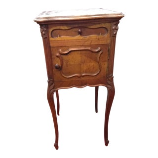 19th Century Antique Nightstand For Sale