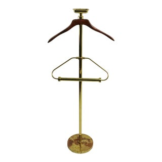 Stylish Mid Century Valet Costumer Stand For Sale
