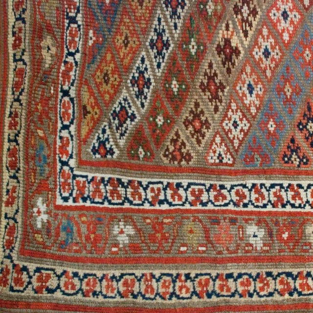 """Islamic Early 20th Century Persian Carpet - 4'7"""" x 11'2"""" For Sale - Image 3 of 4"""