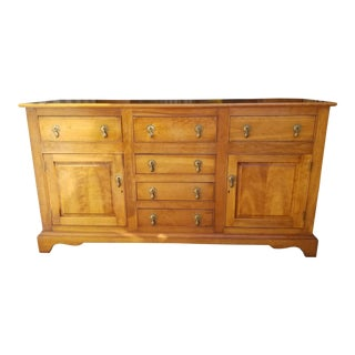 1960s Early American Wooden Stickley Buffet For Sale