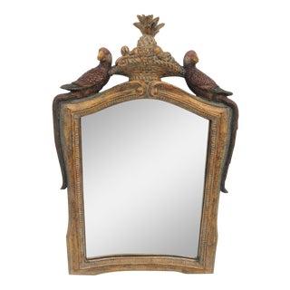 Figural Parrot Mirror