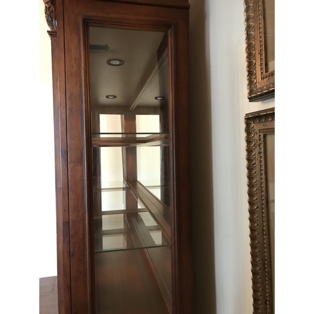 Traditional Large Lighted China Cabinet - Image 5 of 5