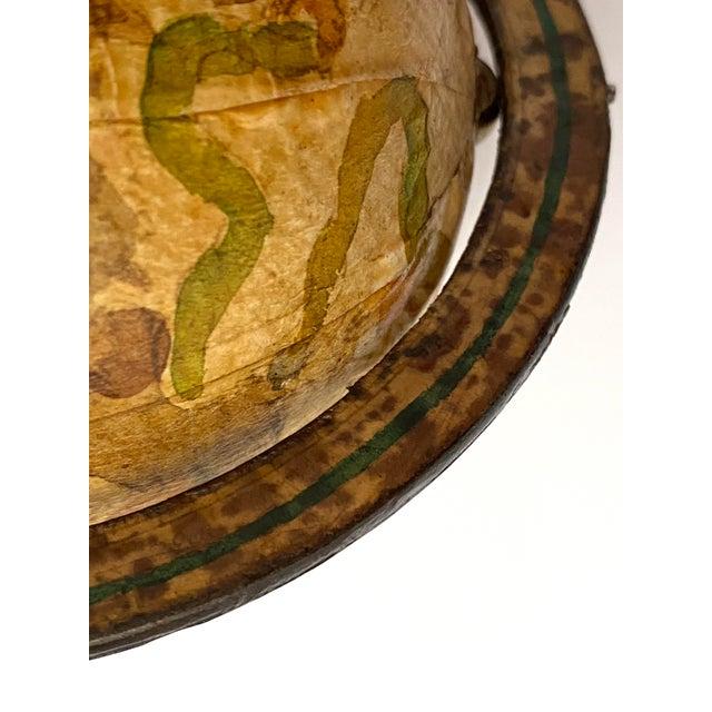 Vintage Artisan Fantasy Celestial Globe Antique Motif For Sale - Image 11 of 13