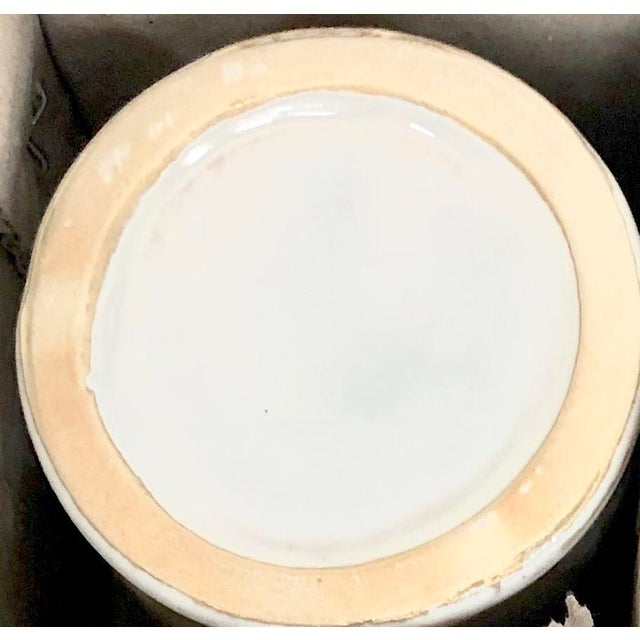 Organic Modern Ceramic Cachepots-Set of 6 For Sale In New York - Image 6 of 6