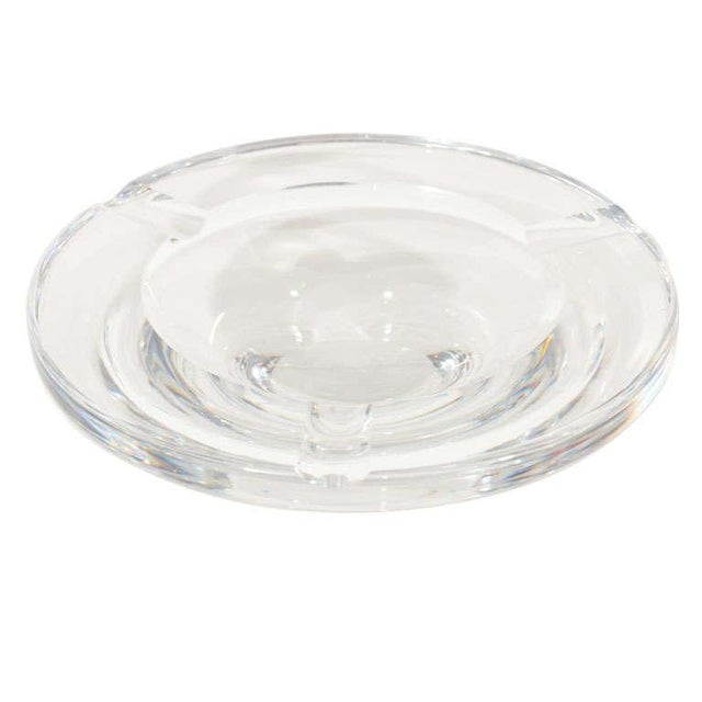 1960s Mid Century Modern Glass Ashtray by Lindstrand for Kosta Boda For Sale - Image 5 of 12