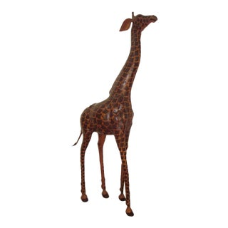 Leather Giraffe For Sale