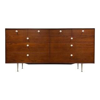 George Nelson for Herman Miller Thin Edge Teak Dresser For Sale