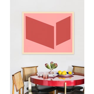 """Medium """"Pinks Disjointed"""" Print by Jason Trotter, 38"""" X 31"""" Preview"""