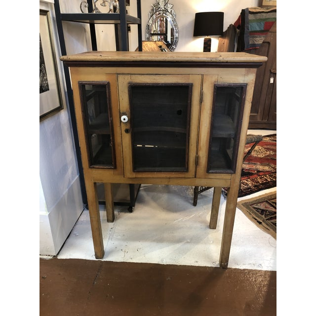 Rare Primitive Pie Safe With Original Paint and Hardware Circa 1900 For Sale - Image 13 of 13