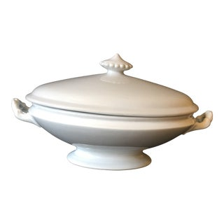 Antique Ironstone Tureen For Sale