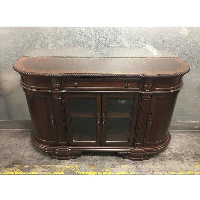 Bellagio Brown Cherry Finish Server Buffet Cabinet - Image 2 of 11