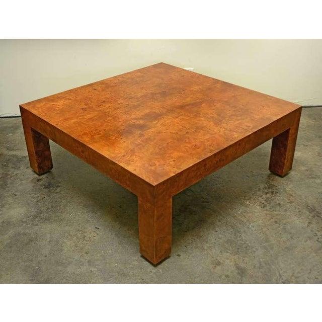 Burlwood Coffee Table by Milo Baughman - Image 3 of 4