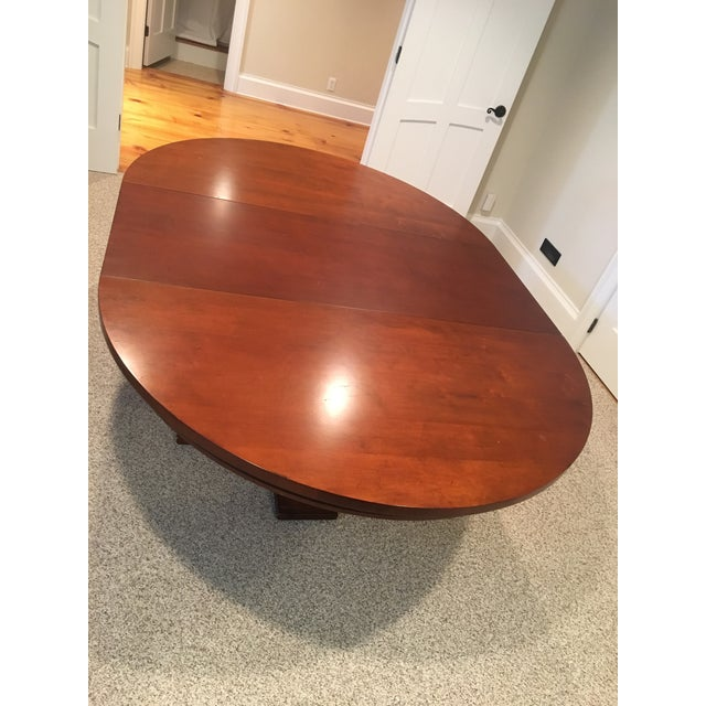 Restoration Hardware Round Dining Table - Image 4 of 10