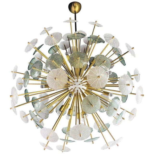 Contemporary Reworked Large Parasole Sputnik Chandelier For Sale - Image 9 of 9