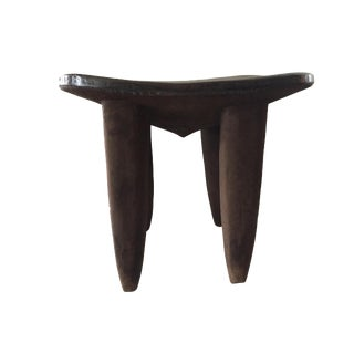 """African Senufo Stool or Table I Coast 20"""" H by 23.75"""" W For Sale"""
