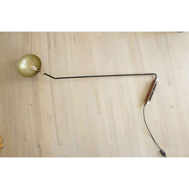 CB2 Large Swing Arm Mantis Wall Sconce - Image 3 of 7