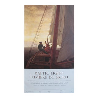 1999 Caspar David Friedrich Exhibition Poster, Baltic Light