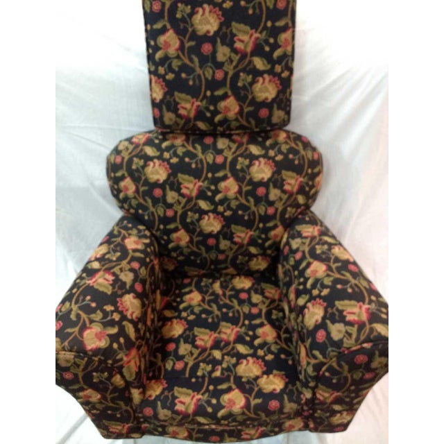 Green Early 20th Century Overstuffed Rocker For Sale - Image 8 of 10