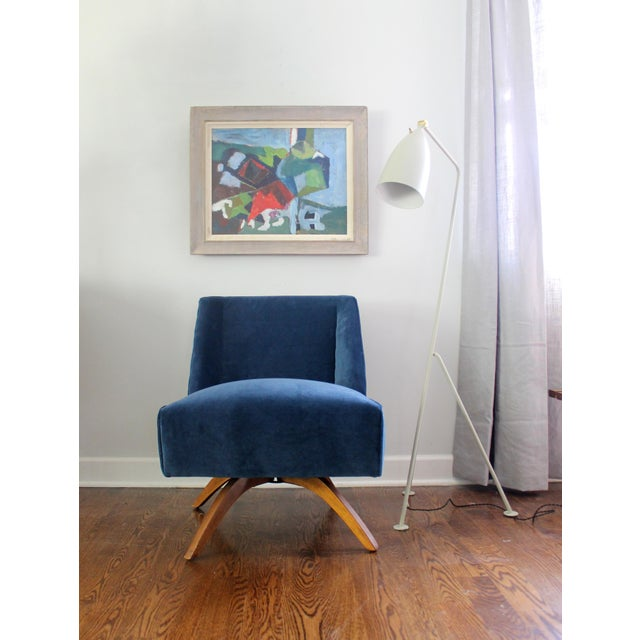 Vintage Mid Century Modern Accent Chair - Image 2 of 9