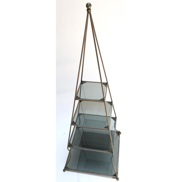 1960s Pyramid Étagères-A Pair For Sale - Image 4 of 7