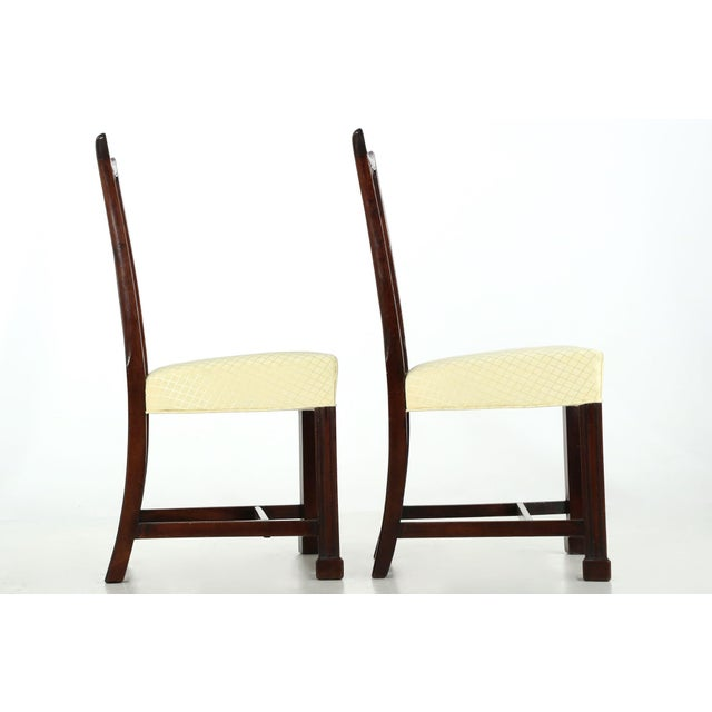 18th Century Chippendale Period Mahogany Side Chairs - a Pair - Image 2 of 10