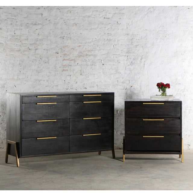 Contemporary Castello 8 Drawer Dresser For Sale - Image 4 of 5