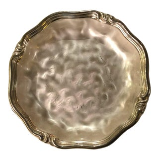 Ikora Germany Electroplated Brass FootedBowl For Sale